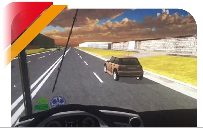 Bus Driving Simulator CAL-TEK