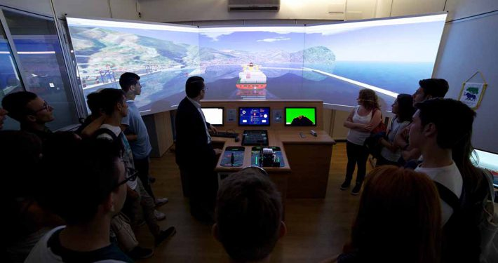 Training a Bordo Nave Ship Bridge Simulator - Training a Bordo Nave CAL-TEK