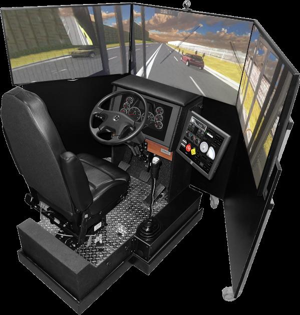 Bus Driving Simulator . Simulatore di guida CAL_TEK