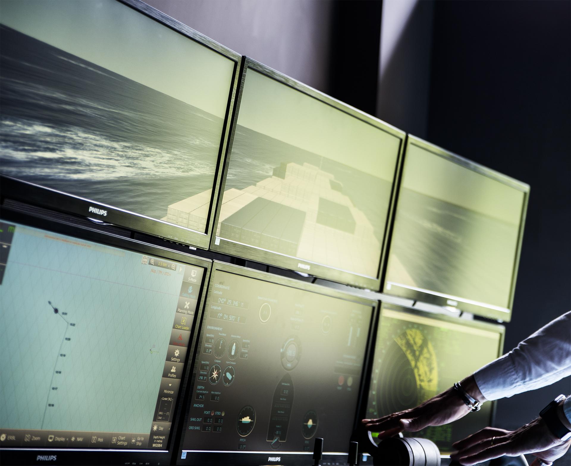 Ship Bridge Simulators > Cal-Tek